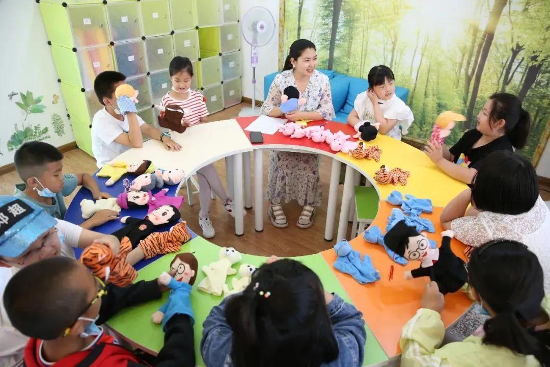 霍林郭勒市校外未成年人心理健康辅导站:呵护