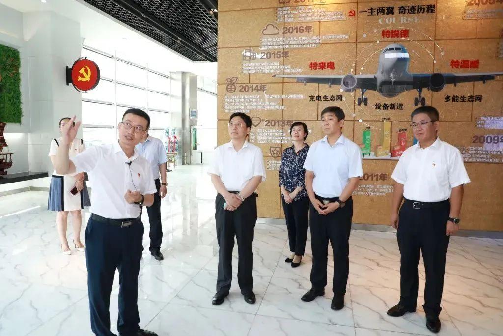 【时政要闻】省委常委、组织部部长王可到崂山区调研