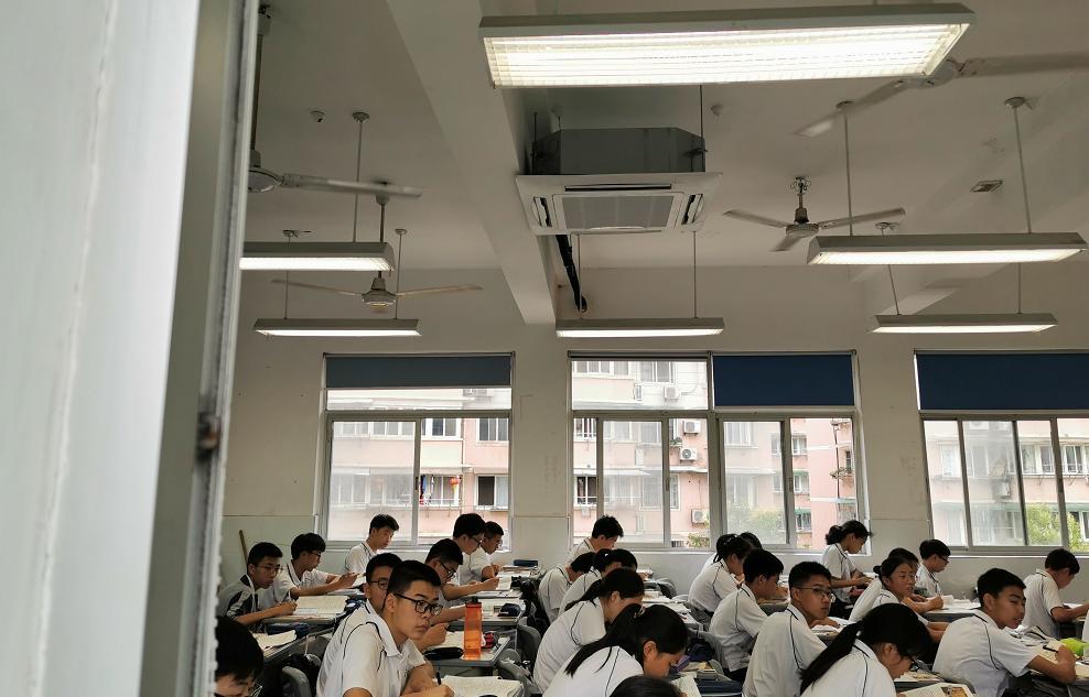 100%全遮盖!建德中幼学一般教室、高中睡房都装空调啦!