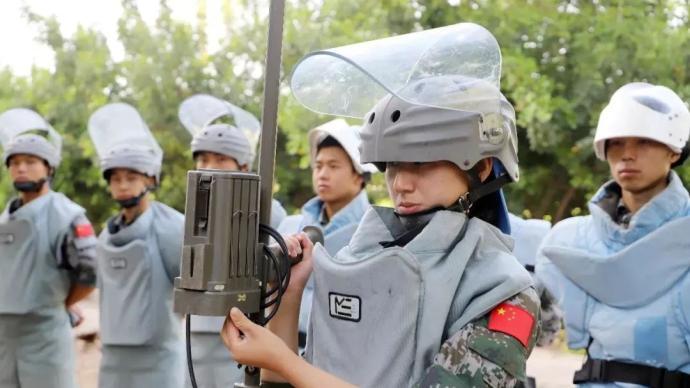 30年来,中国军队派出1000多名女性官兵参加联合国维和行动