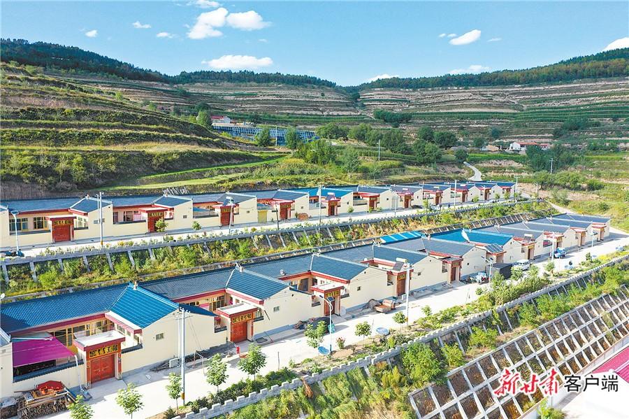 魏沟村村民居住条件明显改善。